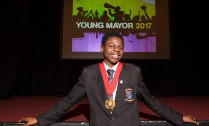 Tomiwa Akintunde named Young Mayor of Newham