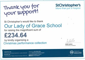 St christophers certificate