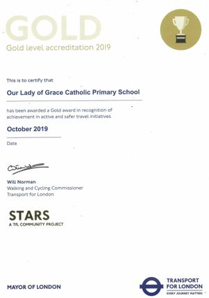 Gold accreditation 2019