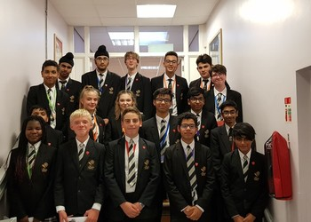 Principal Proud of Prefects