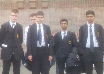Bright Futures London trip 2018