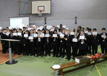 Year 7 Rewards Assembly