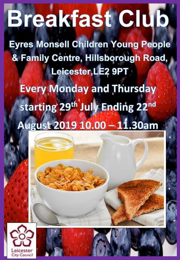 Eyres Monsell Summer Breakfast Club