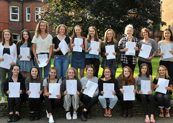 A Level Results - August 2016