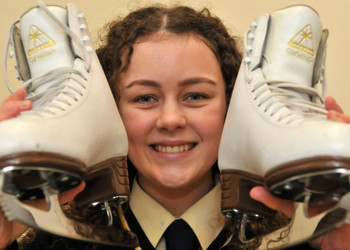 Ice Skating Success for Megan Wright