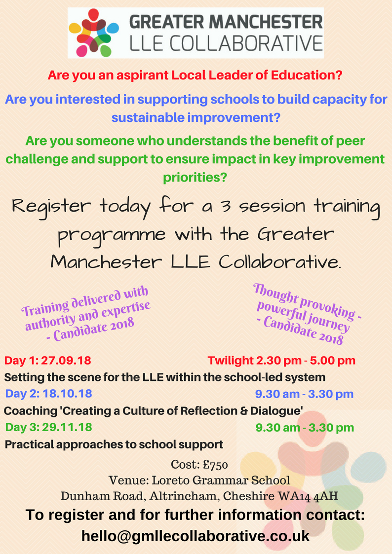 Greater manchester lle collaborative