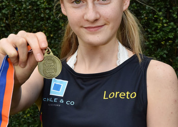 Jessica wins Greater Manchester intermediate cross-country championships