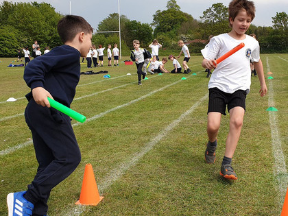 Athletics festival for young sports stars