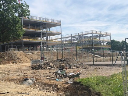 Construction of our brand new school - May 2019