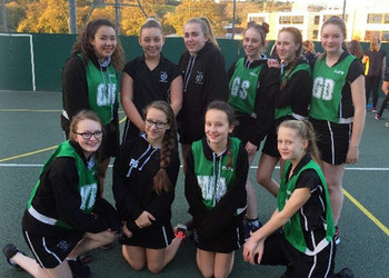 Y8 Netball success