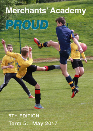 Proud 5 front cover only