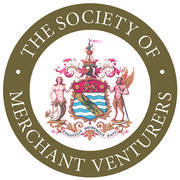 Merchant Venturers Logo White on Gold 72dpi