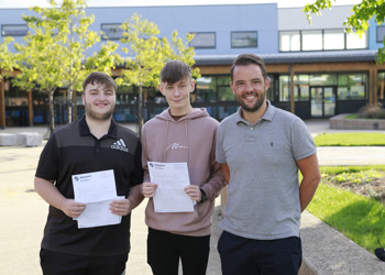 MA.16 students celebrate strong A-level results