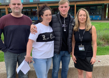 Year 11 celebrate strong GCSE results for class of 2019