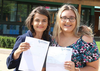 Congratulations to our students on their A Level results