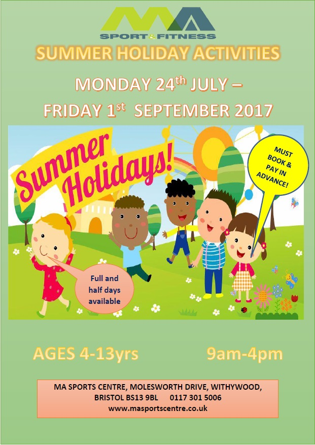 Summer holiday programme 2017