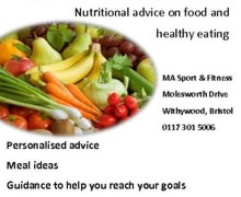 Nutritionist advert