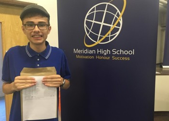 Meridian students celebrate GCSE results