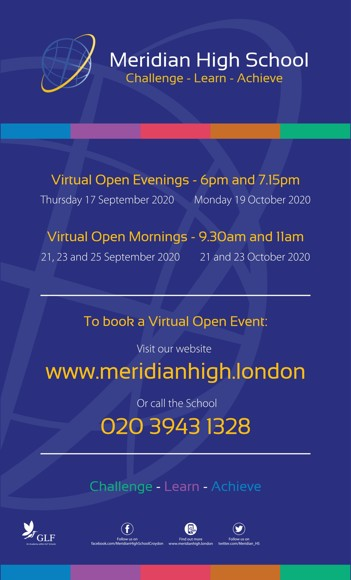 Meridian Open Event Flyer