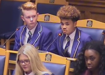 MHS Students at Croydon Council