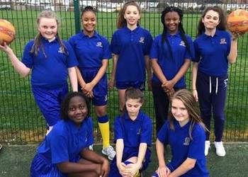Netball Match Report Meridian High V's Norbury Manor School