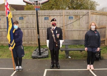 Veteran joins us for Remembrance