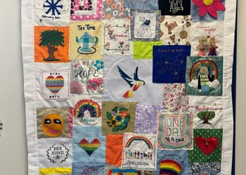 Positivity Quilt for Coppice Lea