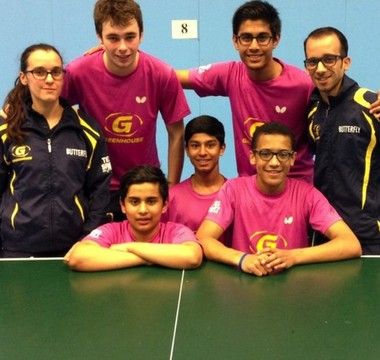TABLE TENNIS VICTORY FOR MORPETH BOYS