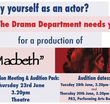CALLING ALL BUDDING ACTORS
