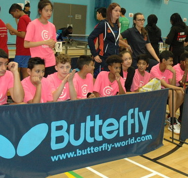 Grils triumph in table tennis tournament