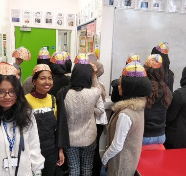 Making hats to learn about the brain