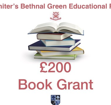 £200 book grant on offer