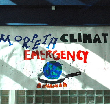 Morpeth School Declares a Climate Emergency!