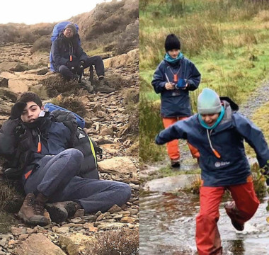 Pupils tackle Outward Bound challenge
