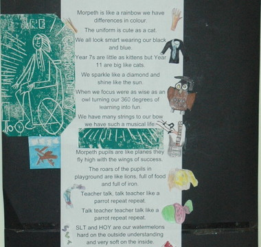Poem in Praise of Morpeth School Community