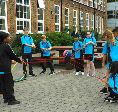 Year 7s rise to the challenge