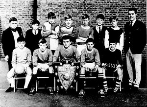 Morpeth football team 1963