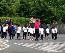 Receptions first pe lessons