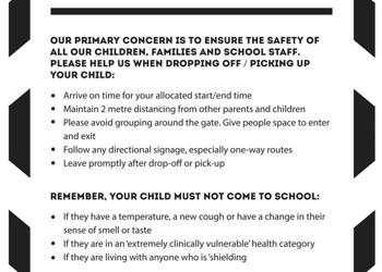 COVID-19 Safety Advice for Parents and Carers