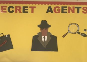 Year 2 Secret Agents are on the case!