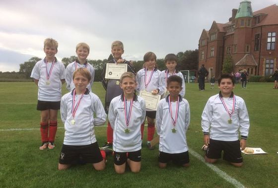 Victory at Tournament for U11 Footballers