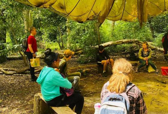 Year 8 Forest School