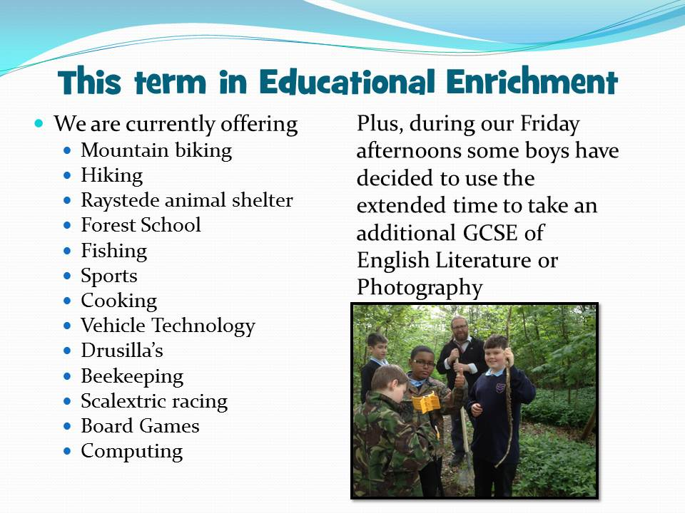 Educational Enrichment 2 (use this)