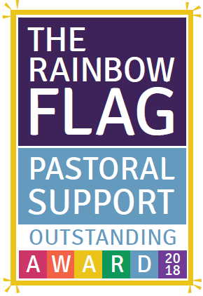 Rainbow flag pastoral support