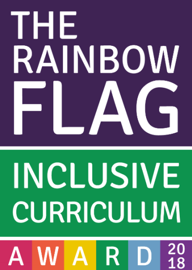 Rainbow flag inclusive curriculum