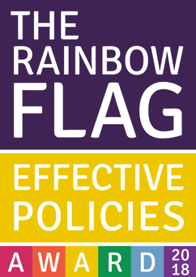 Rainbow flag effective policies