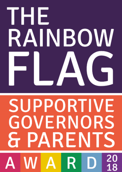 Rainbow flag supportive governors parents