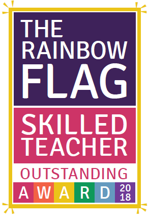 Rainbow Flag Skilled Teacher Outstanding
