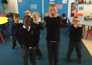 Year 1 Kerr class- Freeze frames!