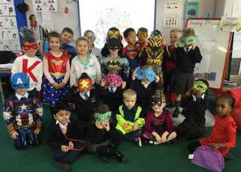 Reception - Superhero Day!